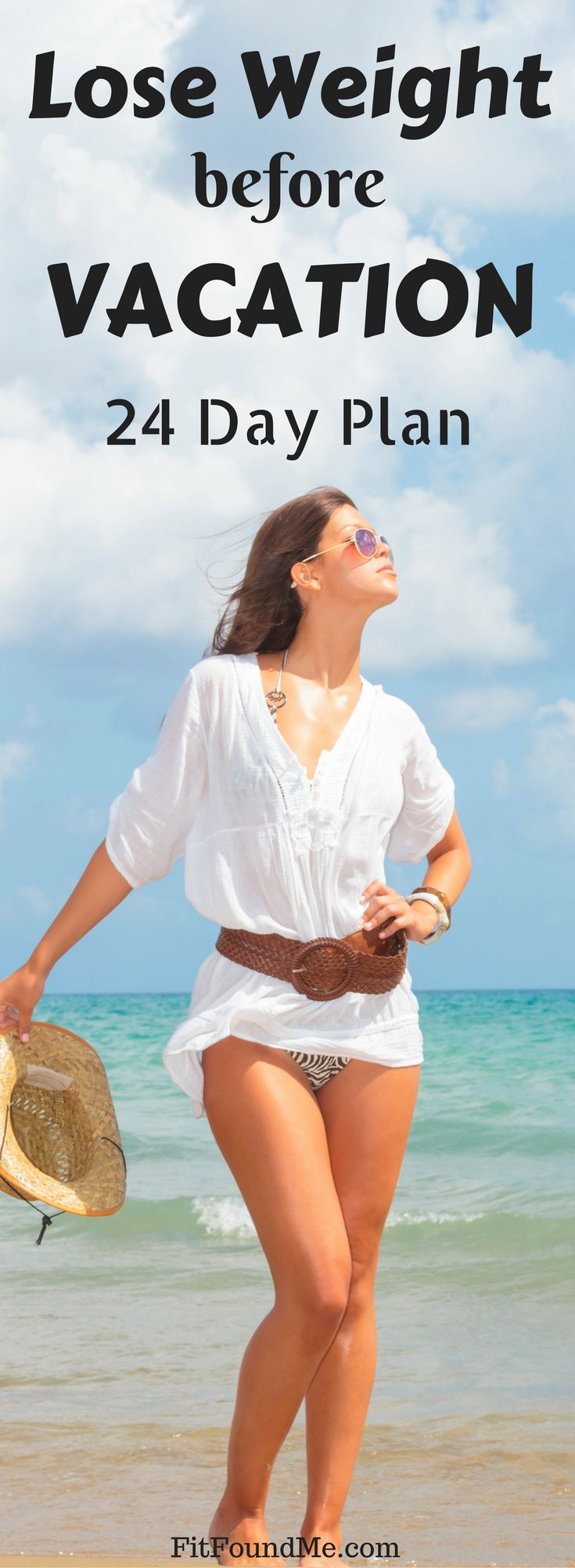Weight loss - quick, healthy in time for vacation. Long term weight loss plans for women over 40!