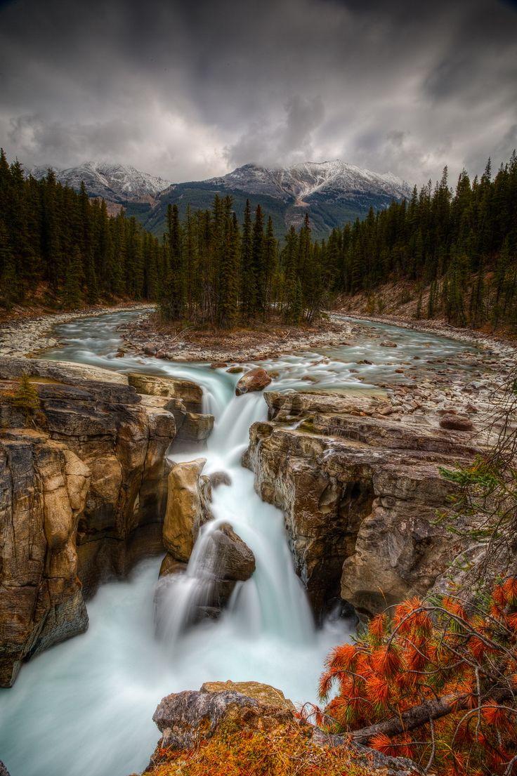 Sunwapta Falls, Jasper National Park, Alberta, Canada (by expat1652)