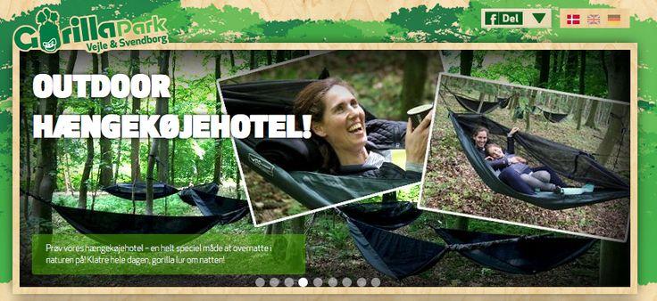 Sommerferie på Fyn - Prøv GorillaPark! #sommer #fyn #sommerferie