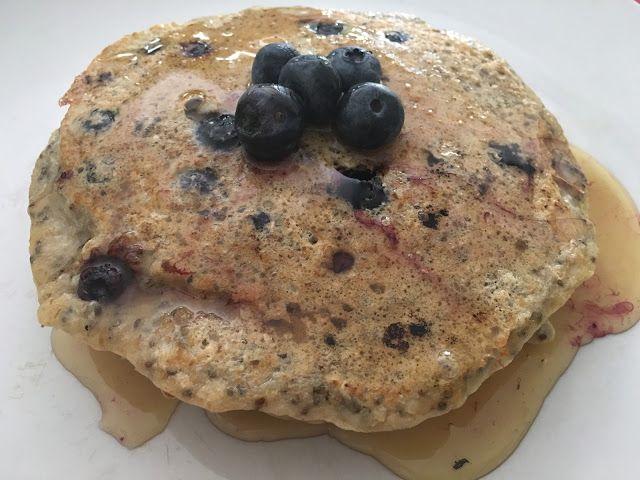Las Coquettes: Pancakes de Avena con Blueberry