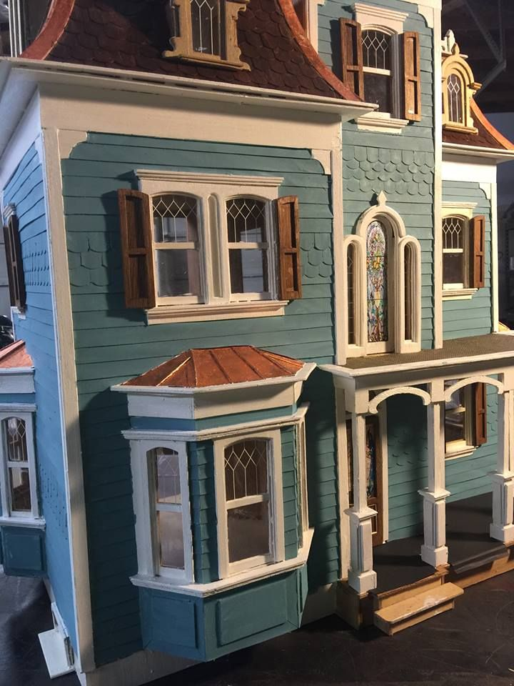 24 Best Images About My Beacon Hill Dollhouse Kit Build
