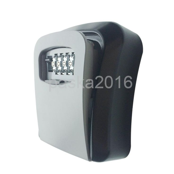 High Security Steel Wall Mount Key Box With Combination Lock Outdoor/Indoor