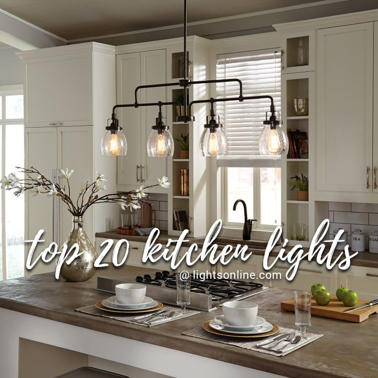 Check out our top 20 kitchen lights