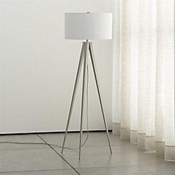 Theo Grey Floor Lamp