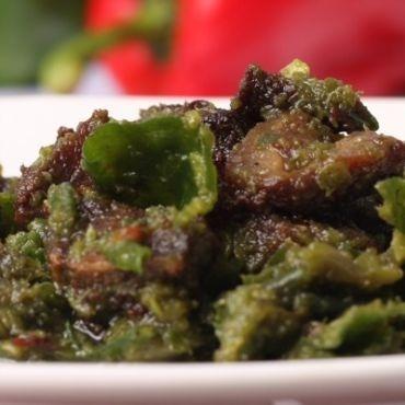 Empal Goreng Cabe Ijo #IndonesianFood #makanan #Indonesia