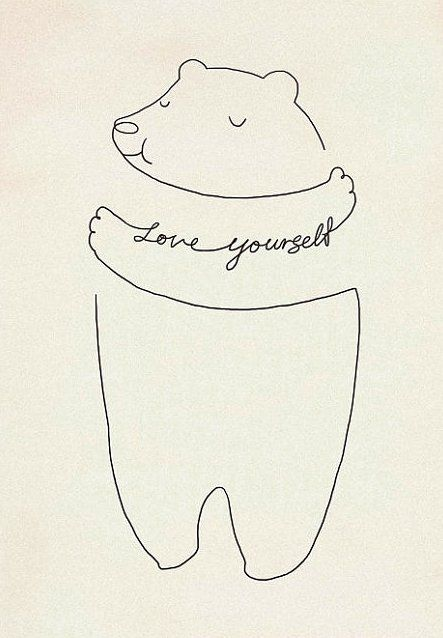you cannot expect others to love you, if you dont love yourself first-