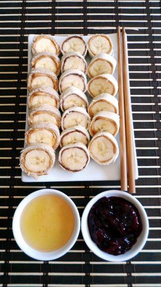 Sushi déjeuner super simples par Josée Leblond. Recette à réaliser avec les enfants.