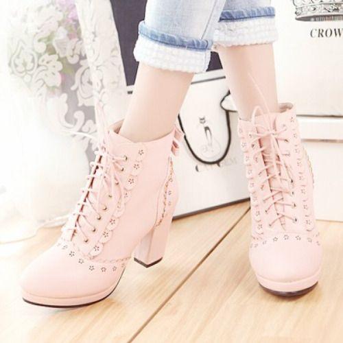 Little bunny space - pastelkkuma:   pastel boots   discount code:...
