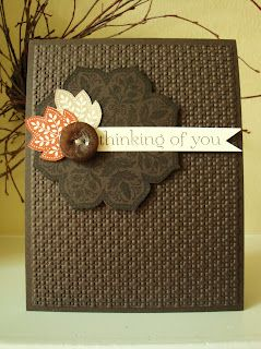 penguinstamper: Fall Leaves, Cards Ideas, Guys Cards, Fall Cards, Gratitude Cards, Fall Time, Autumn Cards, Greeting Card, Stampin Up Cards
