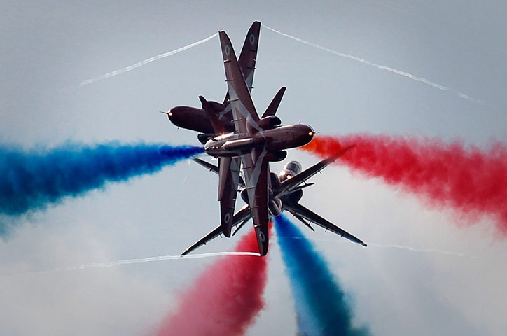 The Red Arrows......Air Show this weekend, yey!!!!!