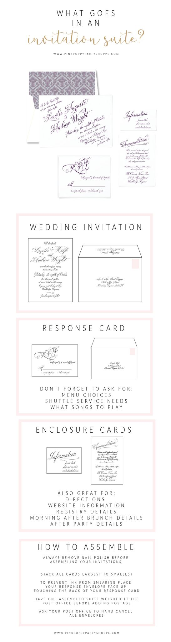 Best 25 Wedding invitation suite ideas on Pinterest