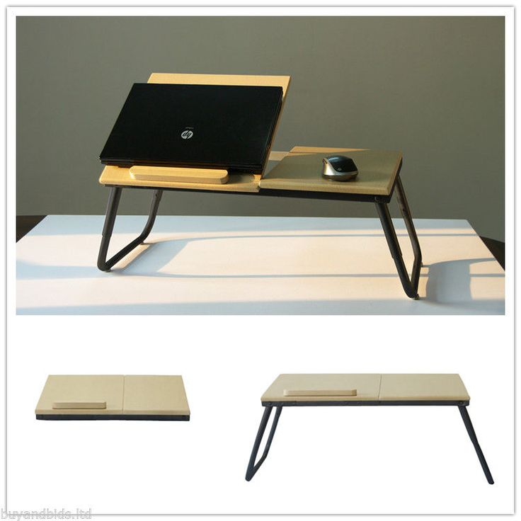 Portable Folding Laptop Table Stand Desk Wooden Lap Bed Tray Computer  Notebook - Best 25+ Laptop Bed Table Ideas On Pinterest Laptop Safe, Laptop