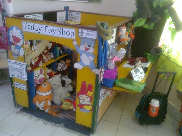 Teddy Toy Shop roleplay area from Bushra.