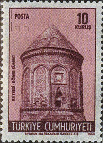 Türk PullarıTarihi Eserler (1969) :