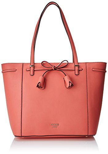 0a58bd1223e Guess Bags Hobo Sacs portés épaule femme Orange (Coral) 13x25.5x38 cm (