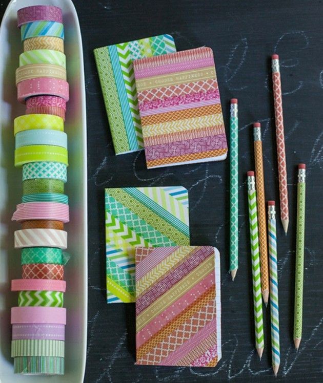 27 Creative and Fun DIY Back to School Ideas | Daily source for inspiration and fresh ideas on Architecture, Art and Design