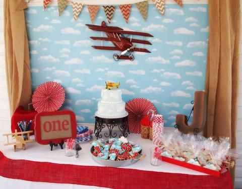23 best Airplane Theme Party Ideas Noahs Boytique images on