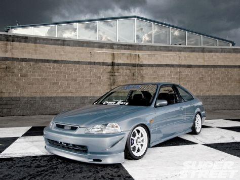 1997 Honda Civic HX - K Series Engine Swap