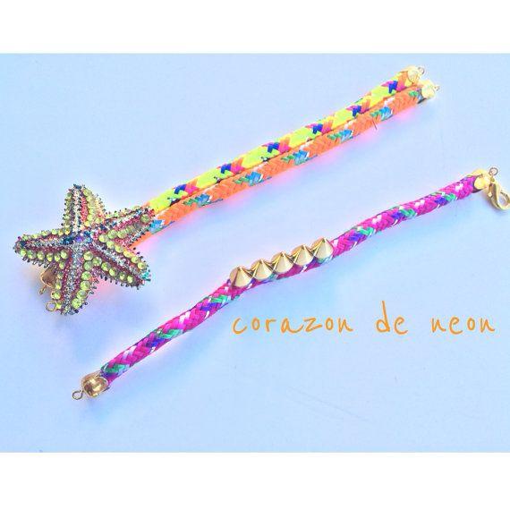 jump rope bracelets by corazondeneon on Etsy, $8.00