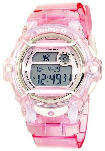 Casio BG169R-4 Women's Pink Baby-G Digital Watch Casio. $70.00. Dial code: digital. Brand:Casio. Condition:brand new with Tags. Band Color: pink. Model: BG169R-4