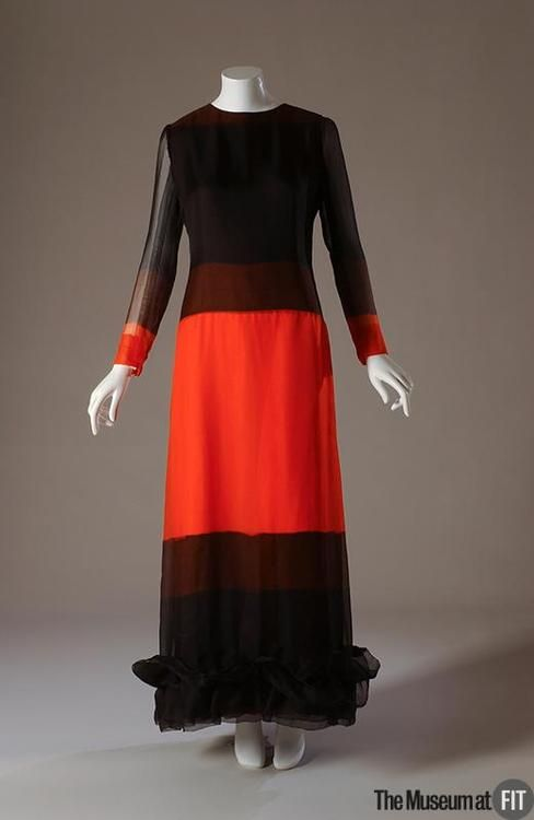Evening Dress  Hubert de Givenchy, 1971  The Museum at FIT