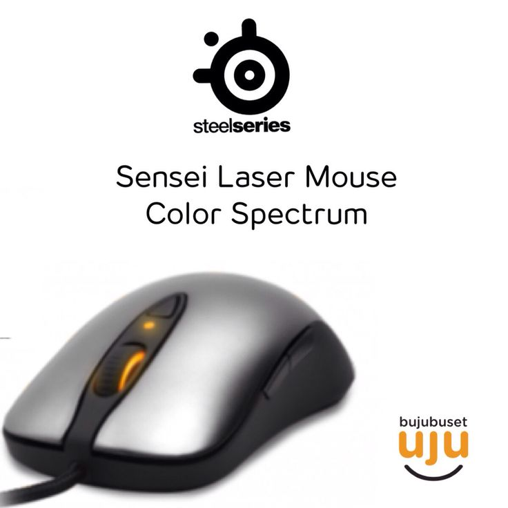Sensei Laser Mouse Color Spectrum IDR 1.350.000