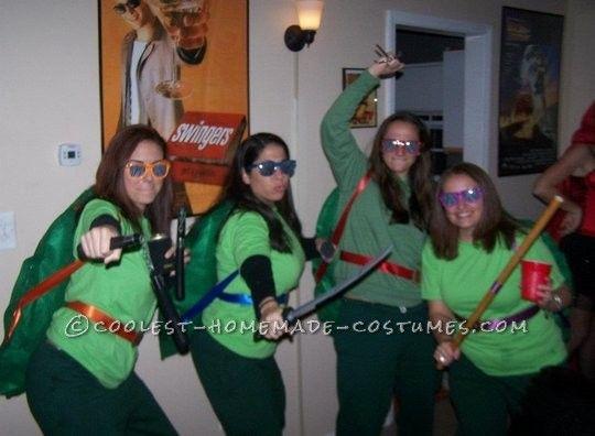 62 best ninja turtle costume ideas images on pinterest halloween homemade teenage mutant ninja turtles group costume solutioingenieria Image collections