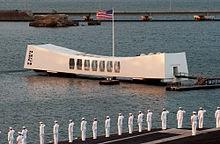 Pearl Harbor. Arizona WWII Memorial