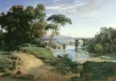 Il ponte di Narni, Jean-Baptiste Camille Corot, Louvre, 1826