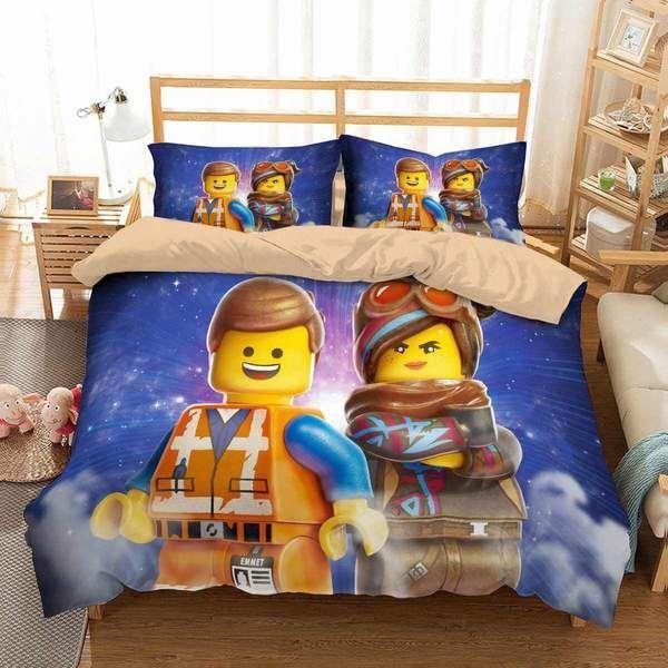 3d Customize The Lego Movie 2 Bedding Set Duvet Cover Set Bedroom Set Bedlinen Duvet Cover Sets Lego Movie Duvet Covers