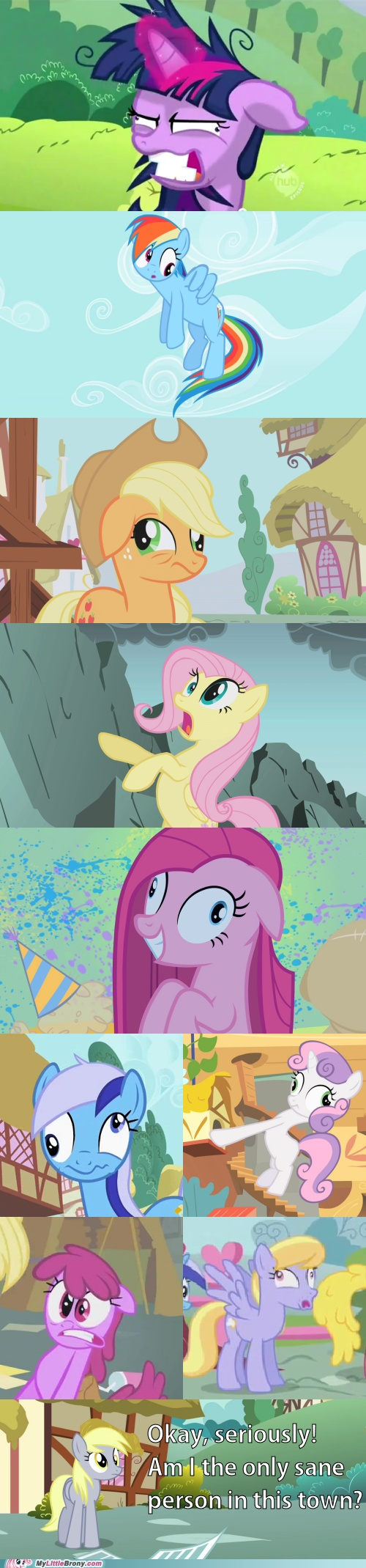 my little pony, friendship is magic, only sane pony