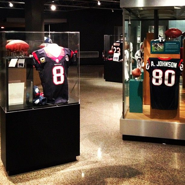 The jersey and shoes worn by @Houston Texans QB Matt Schaub on his 500-yard passing day are now on display in our Pro Football Today Gallery. Texans fans, does that jersey on the right look familiar?