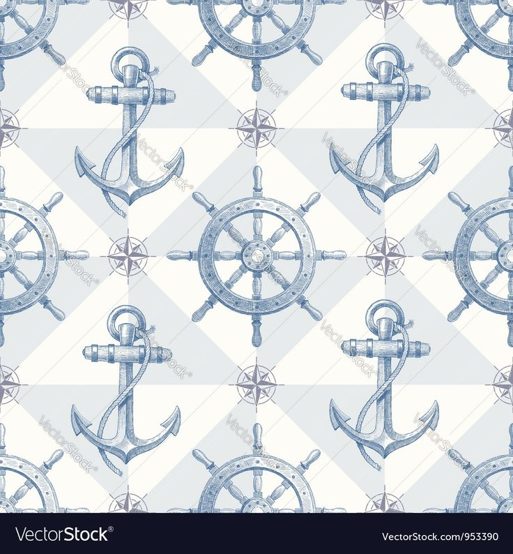 Vector image of Seamless hand drawn nautical background Vector Image, includes seamless, design, old, travel & backgrounds. Illustrator (.ai), EPS, PDF and JPG image formats.