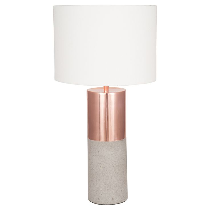 Creative Home Company - Axel Concrete Table Lamp, £99.99 (http://creativehomecompany.co.uk/axel-concrete-table-lamp/)