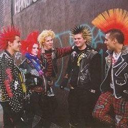colorful punks
