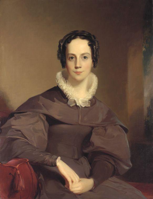 Abbie Ann Cope - Thomas Sully (1783-1872), 1837.  Oil on canvas. Pennsylvania Academy of the Fine Arts.
