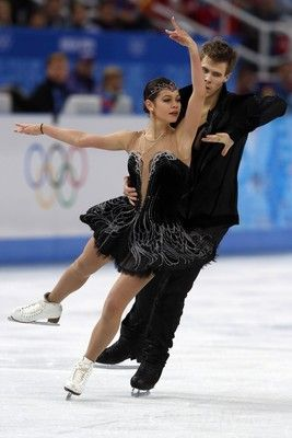 アイスダンスで銅メダルのイリニフ/カツァラポフ組、ソチ五輪