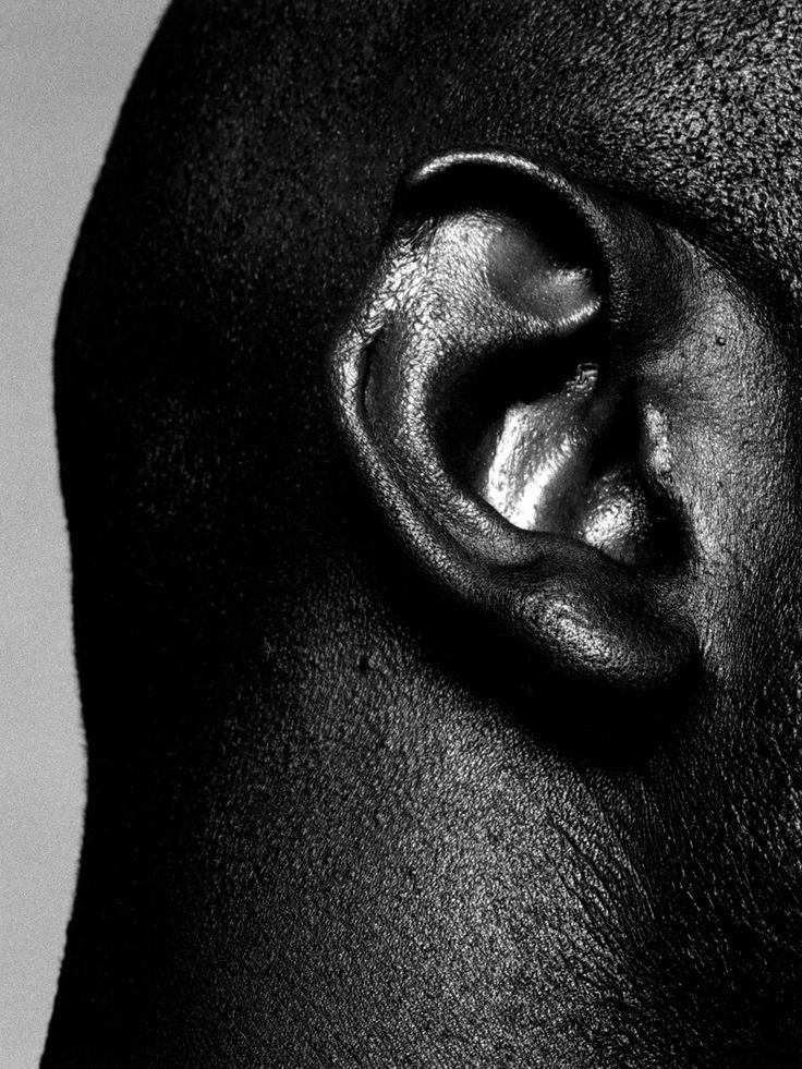 Evander Holyfield's ear