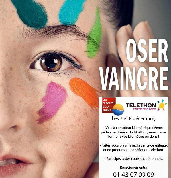 Les Cercles de la Forme participe au Téléthon 2012 #telethon #sport #dons