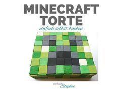 Minecraft Torte selbst backen und verzieren ist ganz einfach mir dieser Schritt für Schritt Anleitung. Der Minecraft Creeper Kuchen macht allen Minecraft Fans Spaß! Backt mit mir die Minecraft Torte für Kindergeburtstag und Minecraft Party: http://einfachstephie.de/2016/02/01/minecraft-torte-selbst-backen/