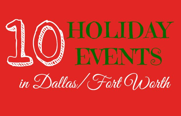 There are many fun ways to celebrate the Holiday Season in the Dallas & Fort Worth Metroplex. Parades, shows, trains, lights, & more holiday events in DFW.