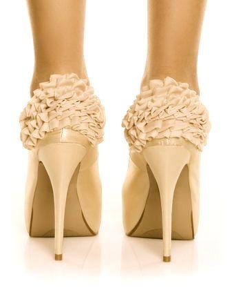 perfect.Fashion Shoes, Wedding Shoes, Bridesmaid Shoes, Girls Fashion, High Heels, Weddingshoes, Girls Shoes, Bridal Shoes, Ruffles