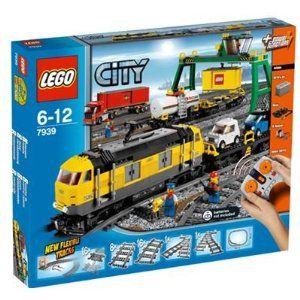 Amazon.com: LEGO City Cargo Train 7939: Toys & Games