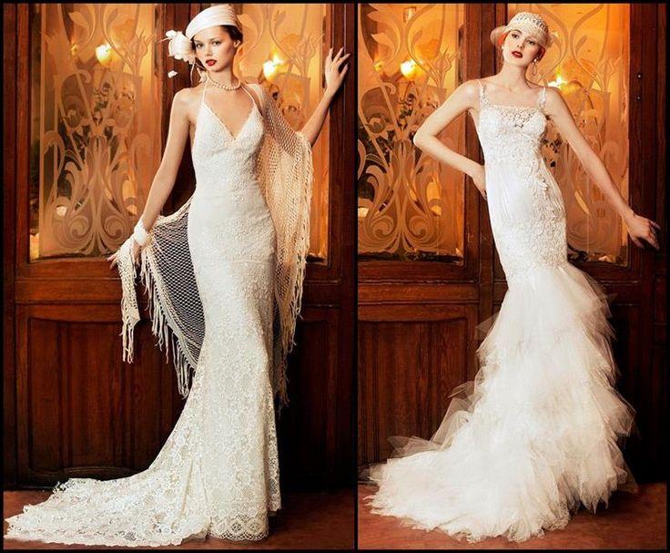 Винтажные свадебные платье