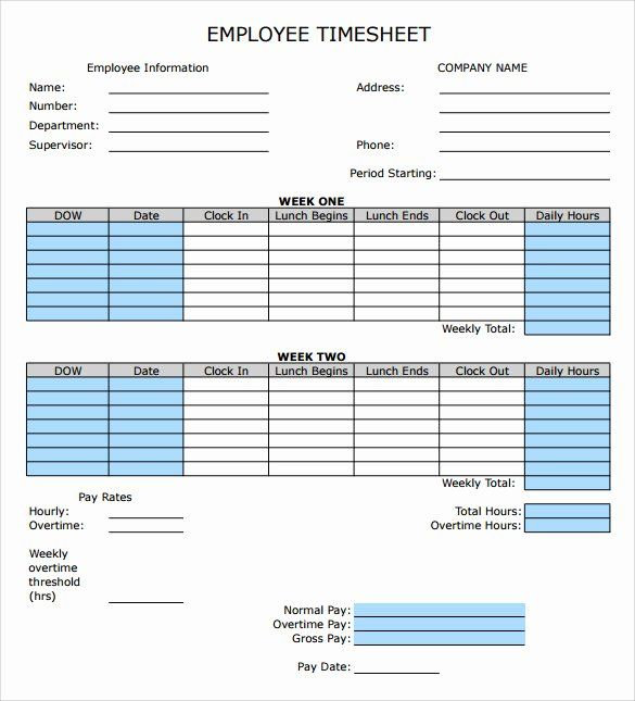 Employee Time Card Template Awesome How To Make Timesheet Calculator Excel Excel Timesheet Timesheet Template Time Sheet Printable Schedule Template