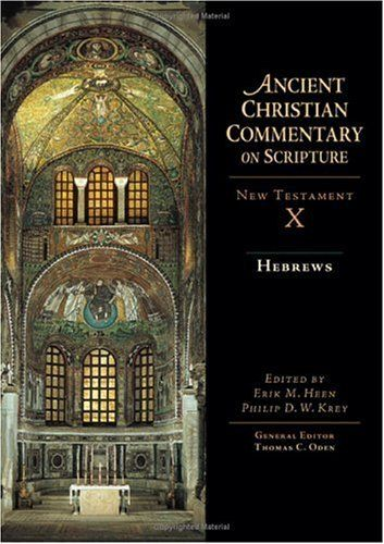Hebrews (Ancient Christian Commentary on Scripture) by Erik M. Heen. Save 3 Off!. $48.50. Publisher: IVP Academic (August 2, 2005). 318 pages. Publication: August 2, 2005. Series - Ancient Christian Commentary on Scripture
