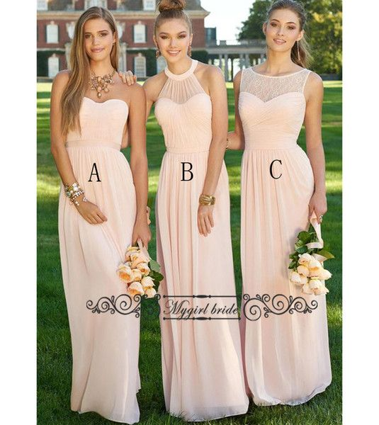 Best 25  Peach bridesmaid gowns ideas on Pinterest | Classy ...