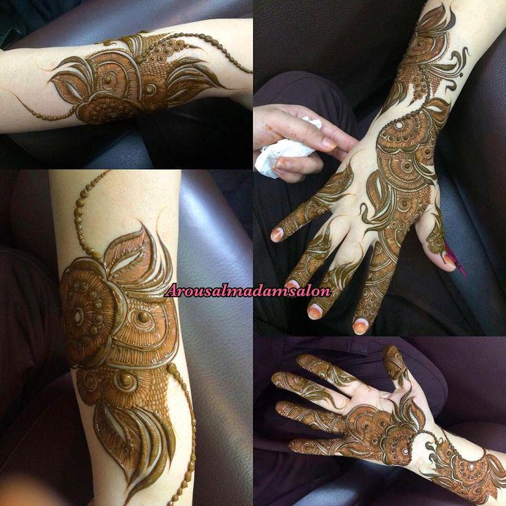 Black Henna Tattoo Dubai: See This Instagram Photo By @7na_albanfsaj • 450 Likes