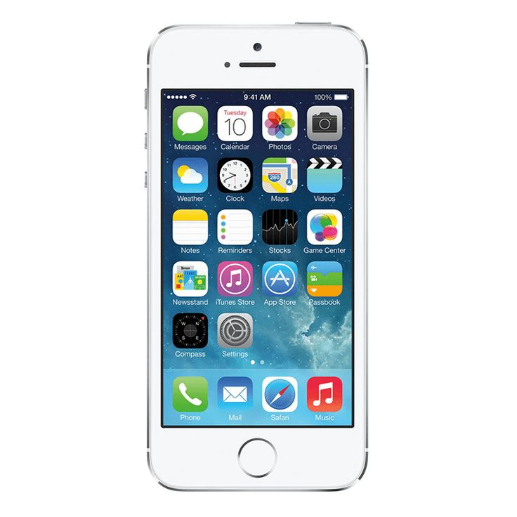 Refurbished iPhone 5S Verizon Silver 32GB (ME345LL/A) (A1533)