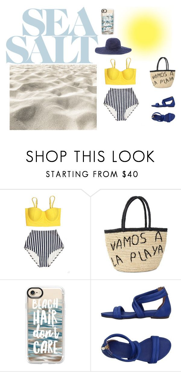 """""""Dia en la Playa"""" by brxanniie-xiv ❤ liked on Polyvore featuring Sensi Studio, Casetify, Nannini and Chico's"""
